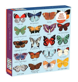 Galison Puzzle- Butterflies of America