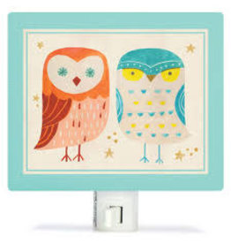 Oopsy Daisy Night Lights Two Wise Owls