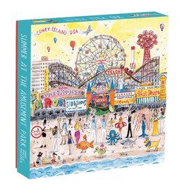 Galison Puzzle- Summer at Amusement Park