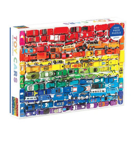 Galison Puzzle- Toy Cars
