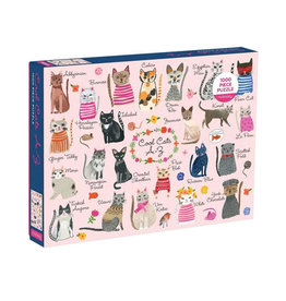 Galison Puzzle- Cool Cats