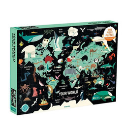 Galison Puzzle- Your World