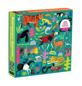 Galison Puzzle- Rainforest Animals