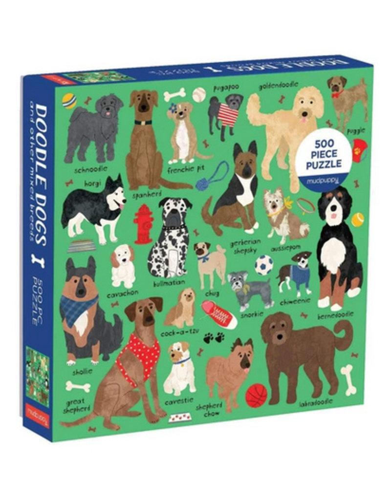 Galison Puzzle-Doodle Dogs