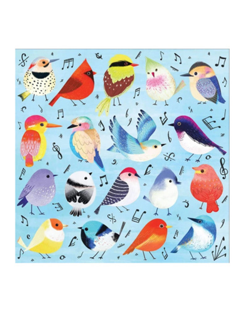Galison Puzzle- Songbirds