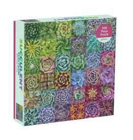 Galison Puzzle- Succulent Spectrum