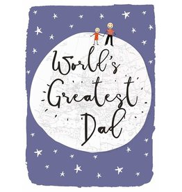 Hammond & Gower Card-World's Greatest Dad