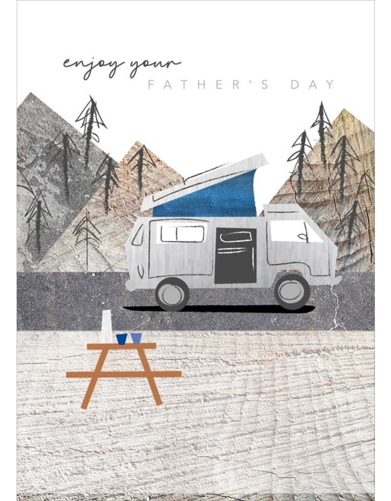 Cinnamon Aitch Enjoy Your Father's Day Card