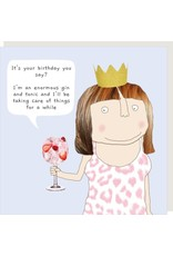 Rosie Made a Thing Card- Enormous Gin