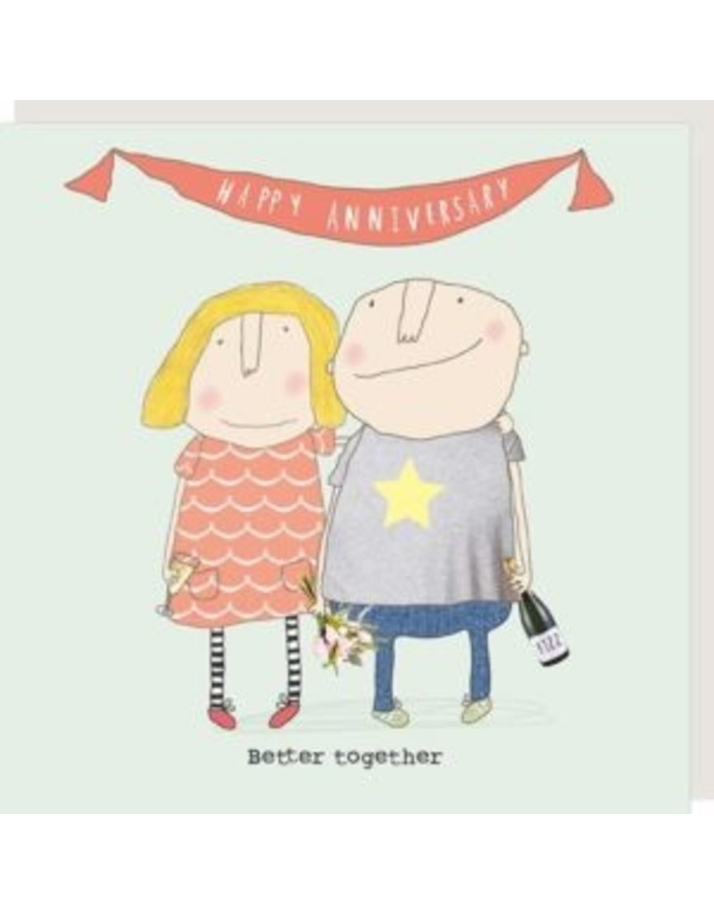 Rosie Made a Thing Card- Better Together