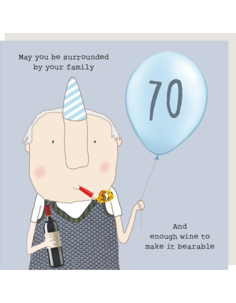 Rosie Made a Thing Card- Boy 70 Bearable