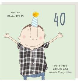 Rosie Made a Thing Card- Boy 40 Ibuprofen