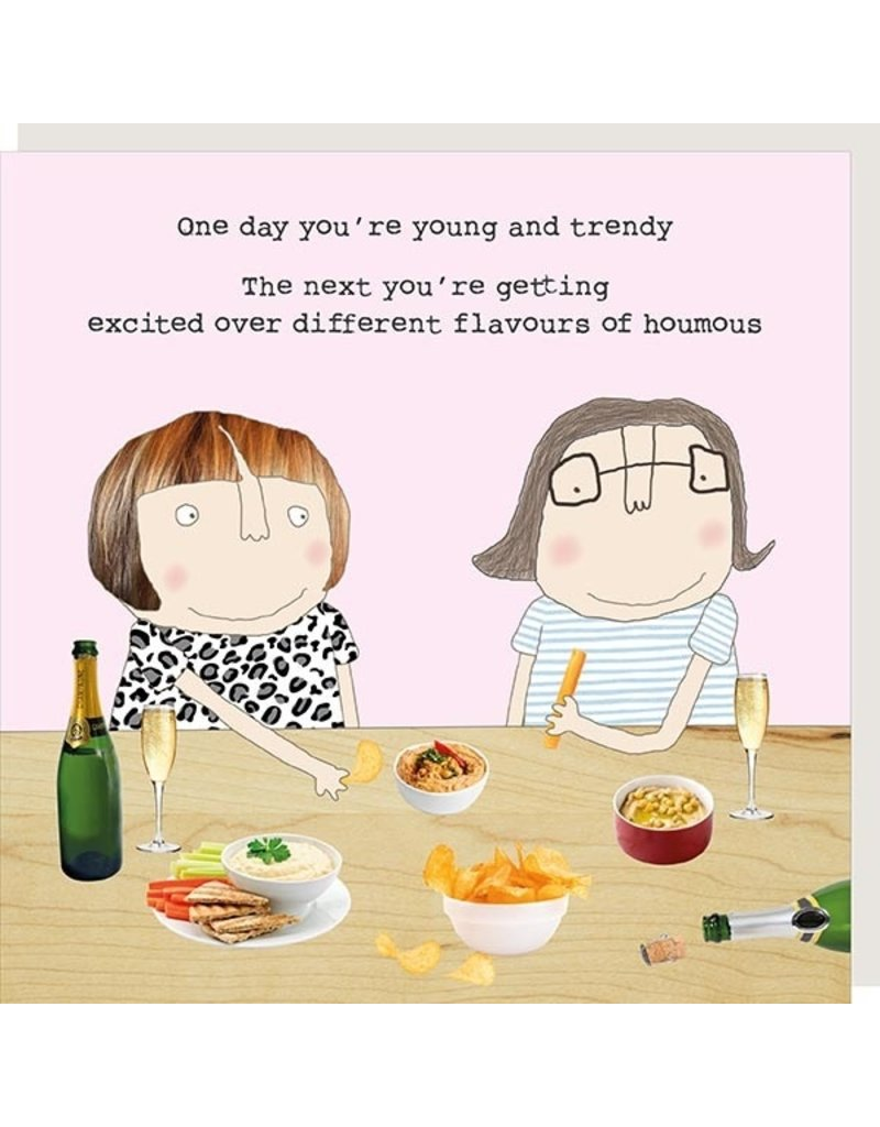 Rosie Made a Thing Card-Houmous