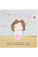 Rosie Made a Thing Card-Puppy
