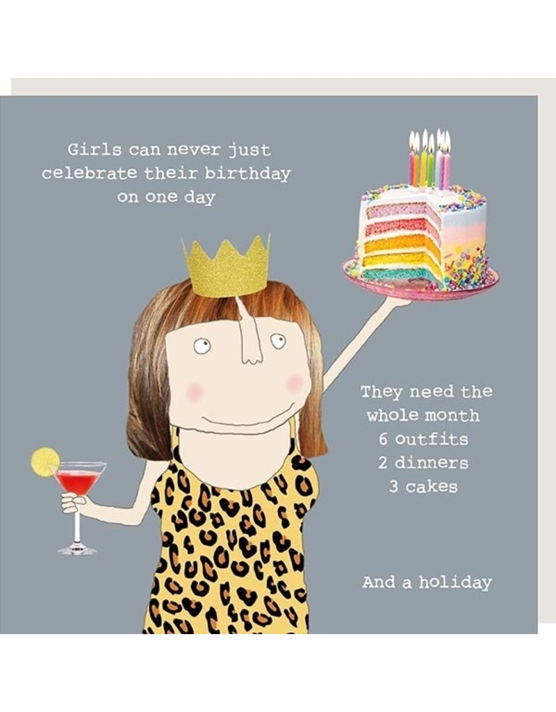 Rosie Made a Thing Card-Girls Birthday