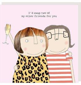 Rosie Made a Thing Card- Friend Swap