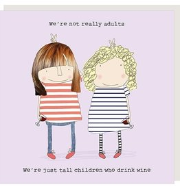 Rosie Made a Thing Card-Tall Children