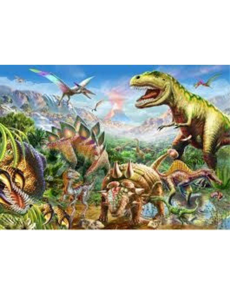 Peter Pauper Press Puzzle- Dinosaur World