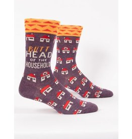 Blue Q Men's Socks- Butthead Household