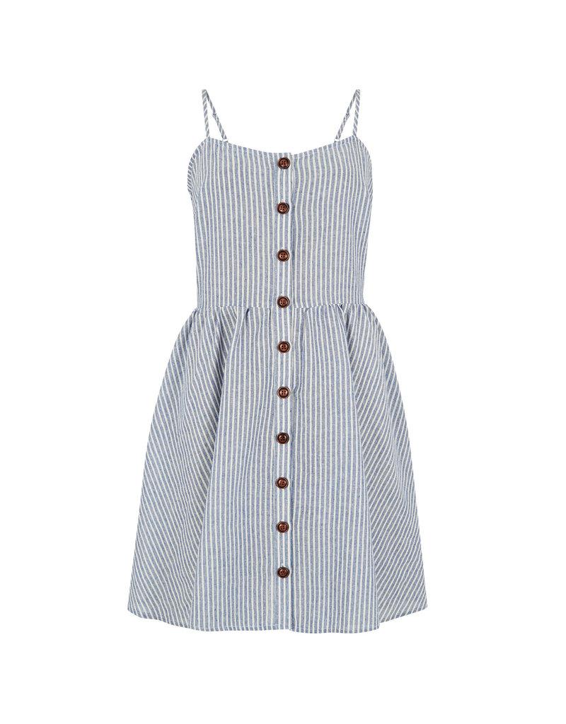 Apricot Shauna Seersucker Button Dress