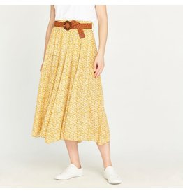 Apricot Dale Mustard Vintage Pebble Daisy Skirt