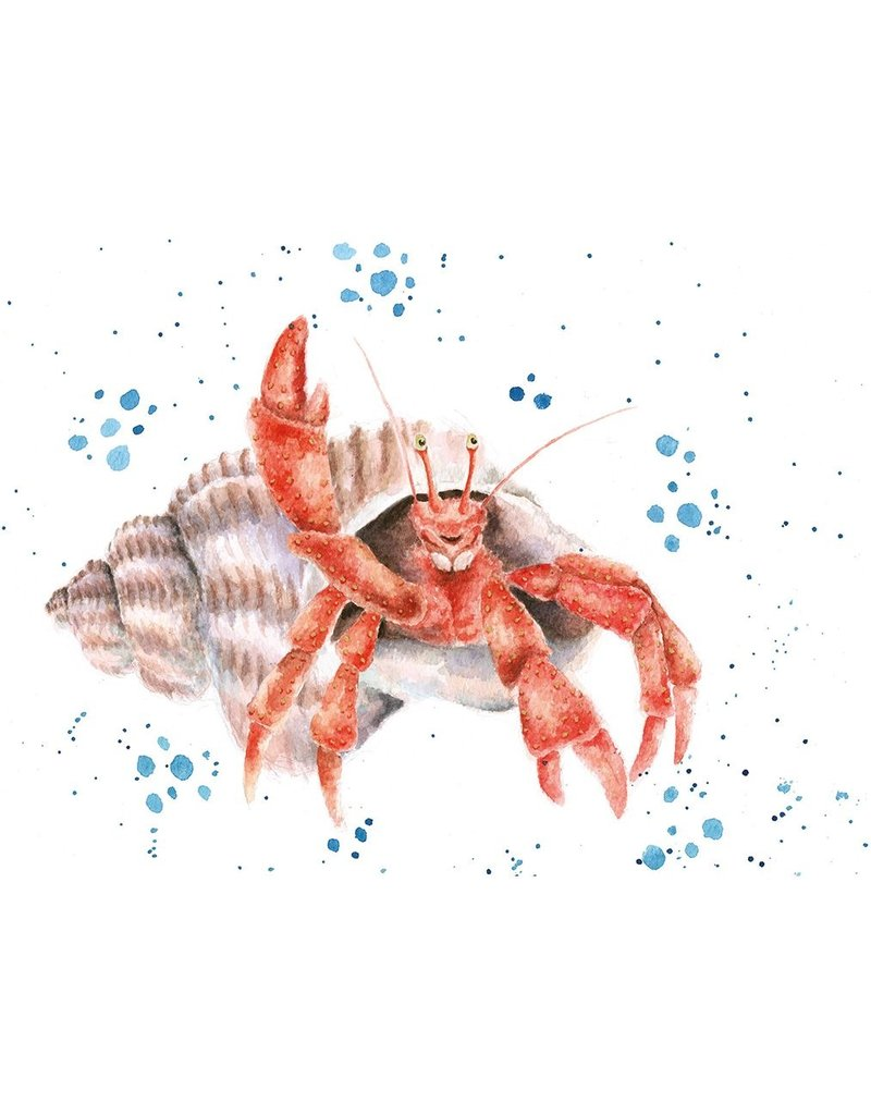 WRENDALE Card-The Happy Crab