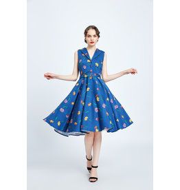 Miss. Lulo Dorothy Floral Dress