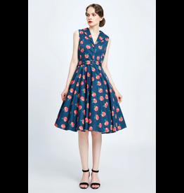 Miss. Lulo Paula Peach Dress