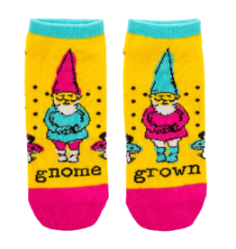 Wit Ankle Socks-Gnome