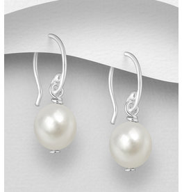 Sterling Sterling Pearl Drops