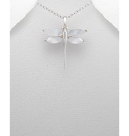 Sterling Necklace- Dragonfly