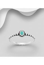 Sterling Ring-  W/TQ