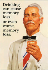 Noble Works Card Drinking Memory Loss