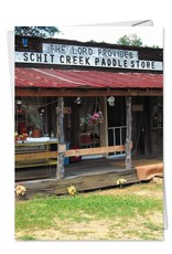Noble Works Card Schit Creek Paddle Store
