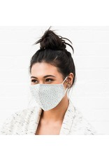 WeddingStar Adult Face Mask Heart Dot