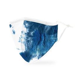 WeddingStar Adult Face Mask Blue Tie-Dye