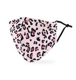 WeddingStar Adult Face Mask Pink Leopard