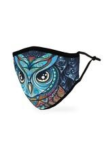 WeddingStar Adult Face Mask- Owl Mosaic