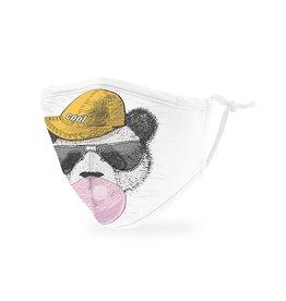 WeddingStar Kids Face Mask -Hipster Panda