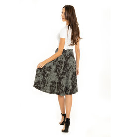 Miss. Lulo Loretta A-Line Skirt With Pockets