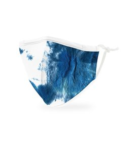 WeddingStar Kids Face Mask -Blue Tie Dye