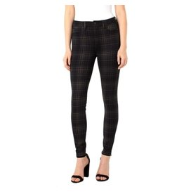 Liverpool Madonna Legging Black/Tan Tartan