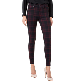 Liverpool Madonna Legging Red/Plaid Tartan