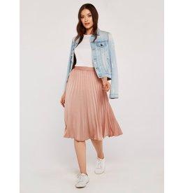 Apricot Murphy Pleated Skirt Pink