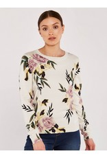 Apricot Imogen Floral Sweater