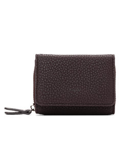 CoLab Brea Pebble Wallet Fudge