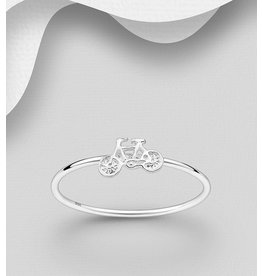 Sterling Sterling Ring-Bicycle