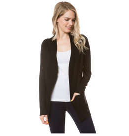 Cielo Audrey- Open Cardigan in Black