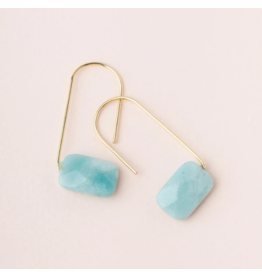 Scout Amazonite Floating Stone Earring