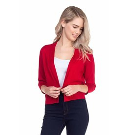 Cielo Nicki- Bolero Cardigan in Red